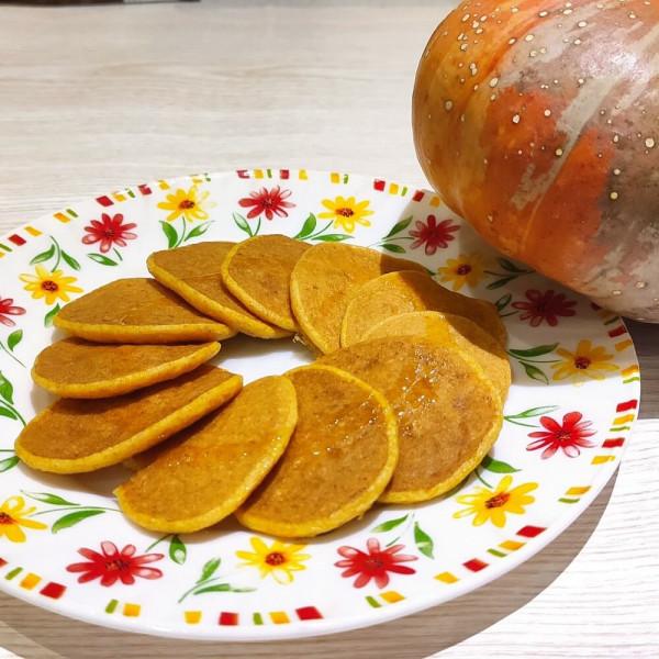 Оладьи из тыквы с молоком для детей после года