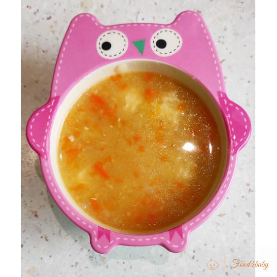 Гороховий суп з фрікадельками або м'яском