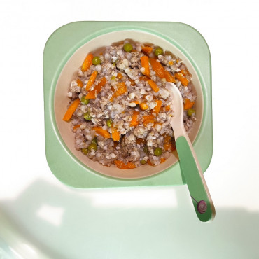 Гречневая каша с овощами и фаршем
