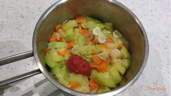 Рецепт кабачковой икры для детей