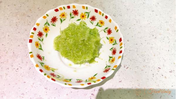 Млинці з кабачка з рисовим борошном
