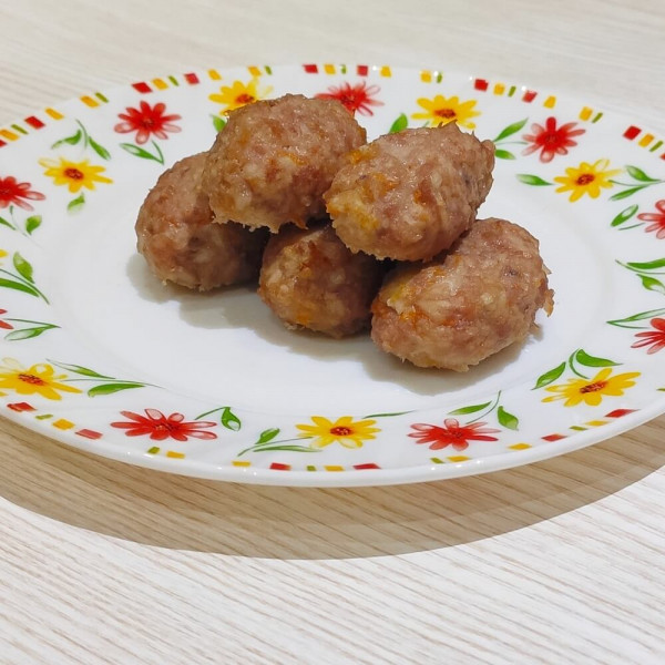 Котлети з гарбузом в духовці для дітей без яйця