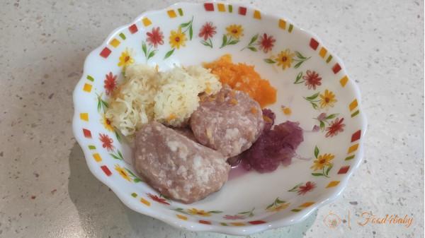 Котлеты с тыквой в духовке для детей без яйца