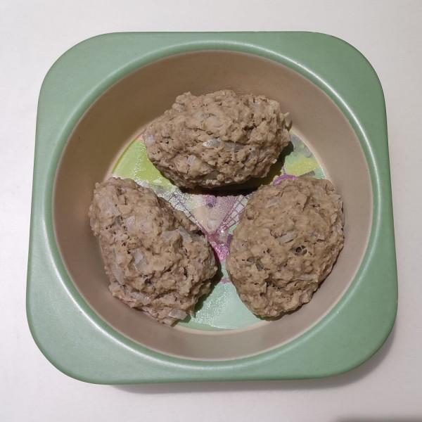 Котлети з вівсяними пластівцями без яйця для дітей