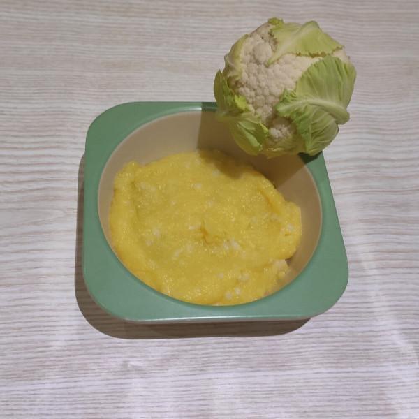 Рецепт кукурузной каши с цветной капустой