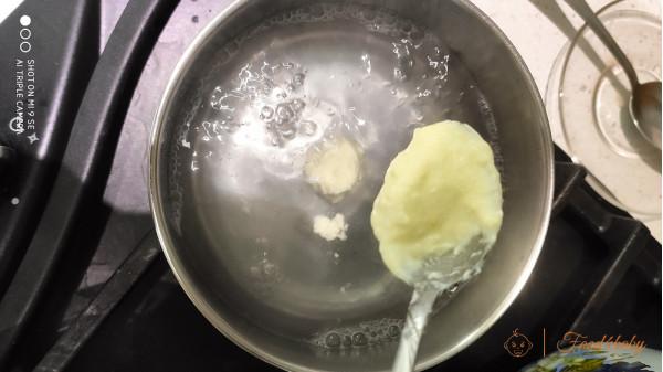 Ліниві вареники з дитячого творожка без цукру