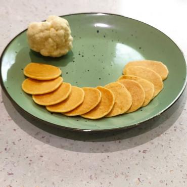 Оладьи из цветной капусты с молоком