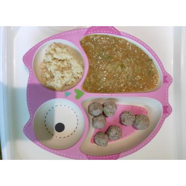 Овочевий суп з фрікадельками та кус-кус
