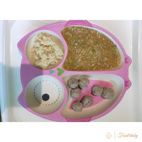 Овощной суп с фрикадельками и кус-кус