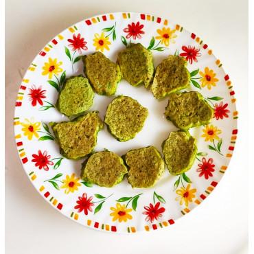 Оладьи из брокколи