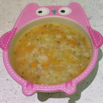 Питательный суп с ов...