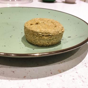 Запеканка из печени с замороженным кабачком на пару или в духовке.