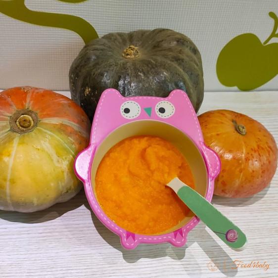 Овощное пюре из тыквы и картофеля для детей до года и после года