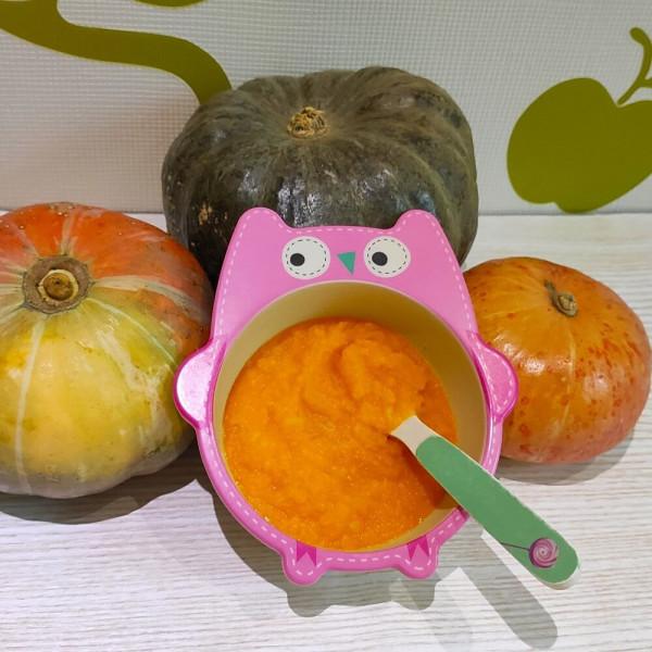 Овочеве пюре з гарбуза та картоплі для дітей до року та після року