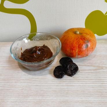 Фруктове пюре з гарбуза та чорнослива для дітей до року та після року