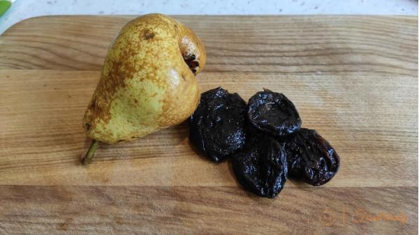 Фруктовое пюре из груши и чернослива для детей до года и после года