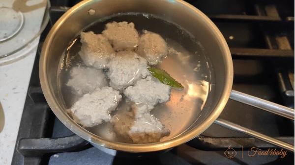 Рыбные фрикадельки из скумбрии