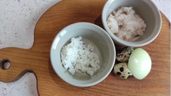 Рыбные тефтели с рисом на пару