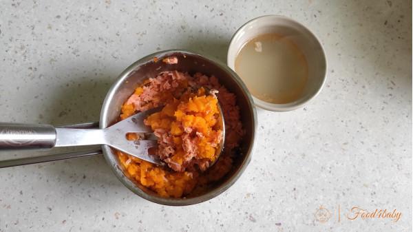 Рибно-моркв'яне пюре