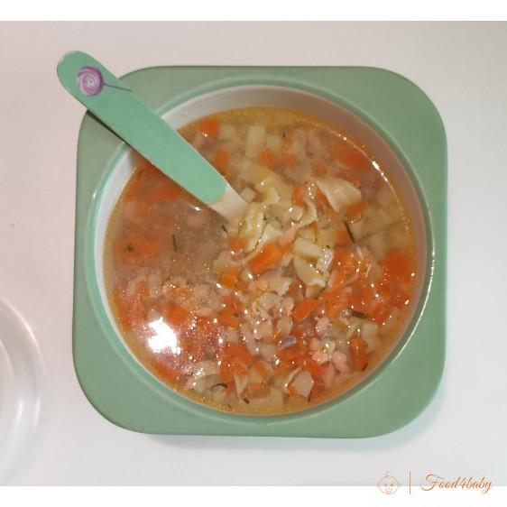 Рыбный суп с домашней лапшой