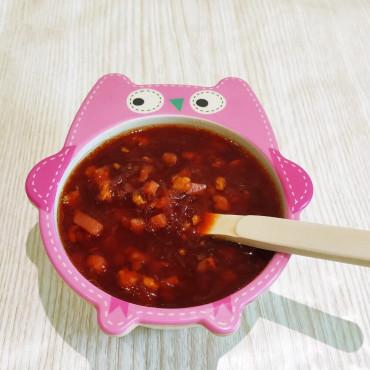 Рецепт супа со свеклой и рыбой для детей от 8 месяцев до года и после года.