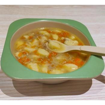 Суп с галушками или ...