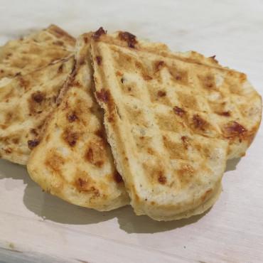Рецепт творожных (сырных) вафель на перекус для детей