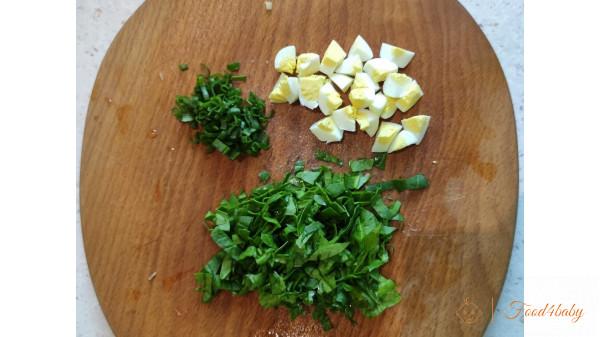 Зелений борщ зі шпинатом