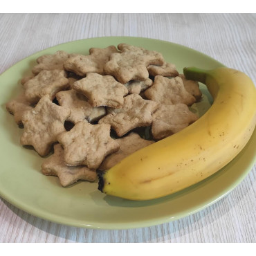Банановое печенье без сахара и яиц для детей