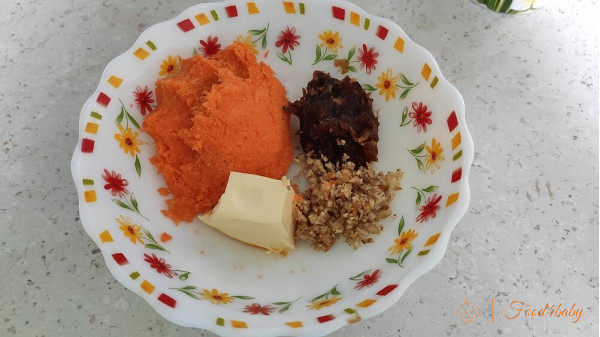 Морковное печенье с рисовой мукой без сахара и яйца!