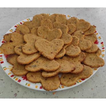 Моркв'яне печиво з рисовим борошном без цукру та яйця!